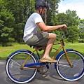 Aprendendo a andar de bicicleta diferente