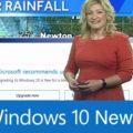 Windows 10 interrompe a previsão do tempo num canal de TV nos EUA